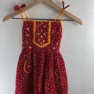Unique Little Girls Dress Handmade